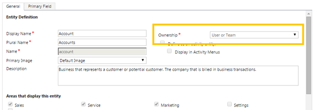 Ownership of Records in Dynamics CRM