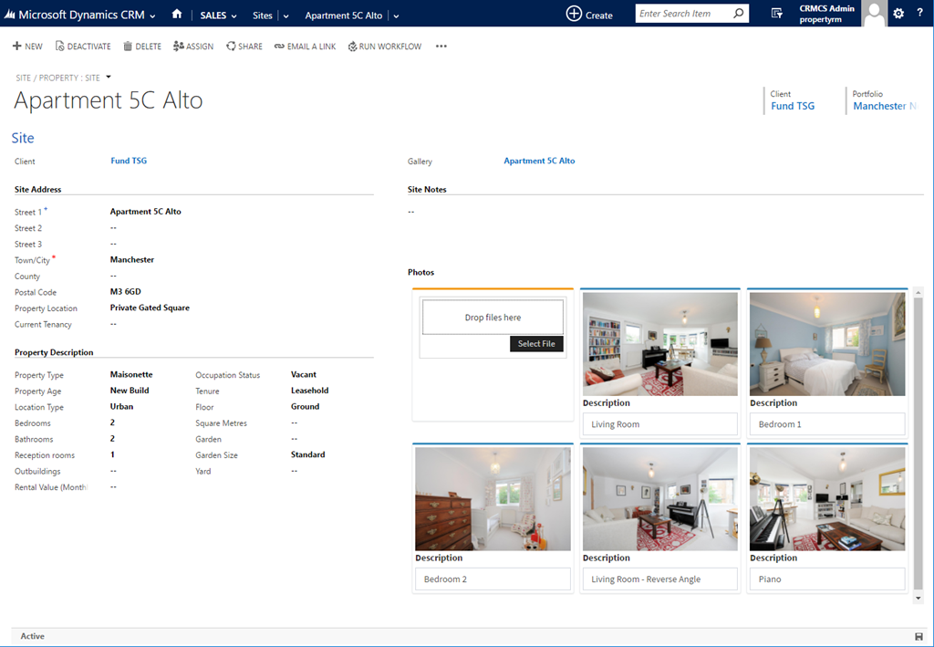 SharePoint Image Galleries in CRM