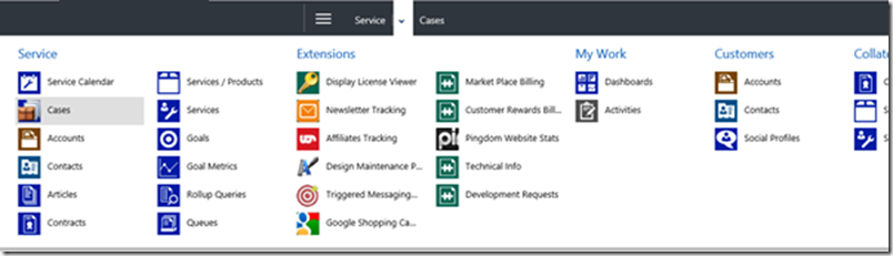 Upgrading CRM 2011 - Fixing the SiteMap after Upgrade