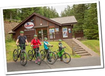 Bike hire at Whinlatter