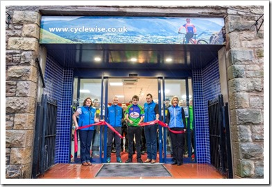 Cyclewise academy ribbon cutting