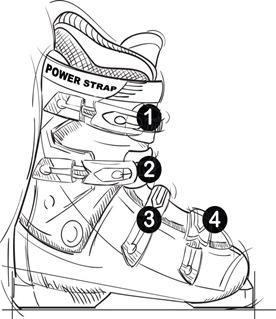 ski-boot-drawing