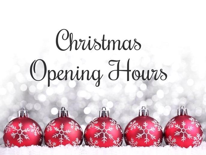 Xmas-opening-hours
