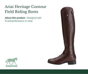 Ariat Heritage Contour Field Riding Boot from RB Equestrian
