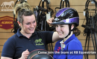 Come join the team at RB Equestrian - blog