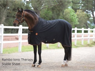 Rambo Ionic Therapy Stable Sheet from RB Equestrian