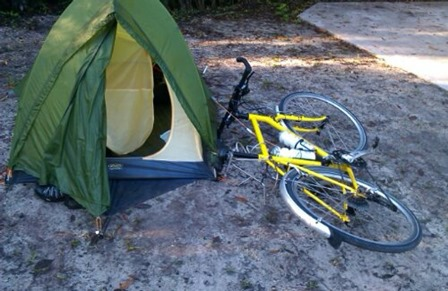 Frank-Burns-Cycling-Florida-Tent