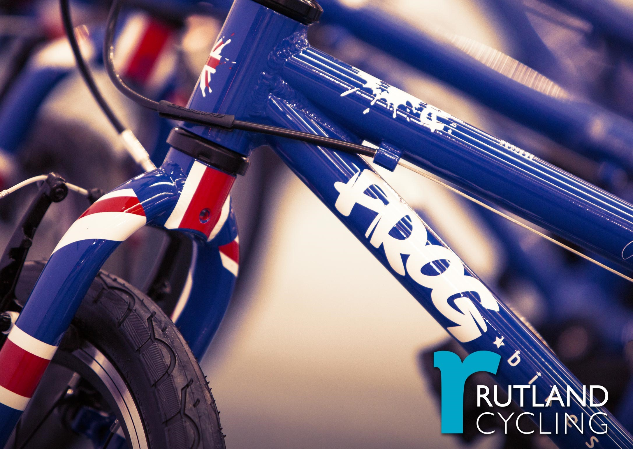 New: Frog Union Jack Range of Kids Bikes
