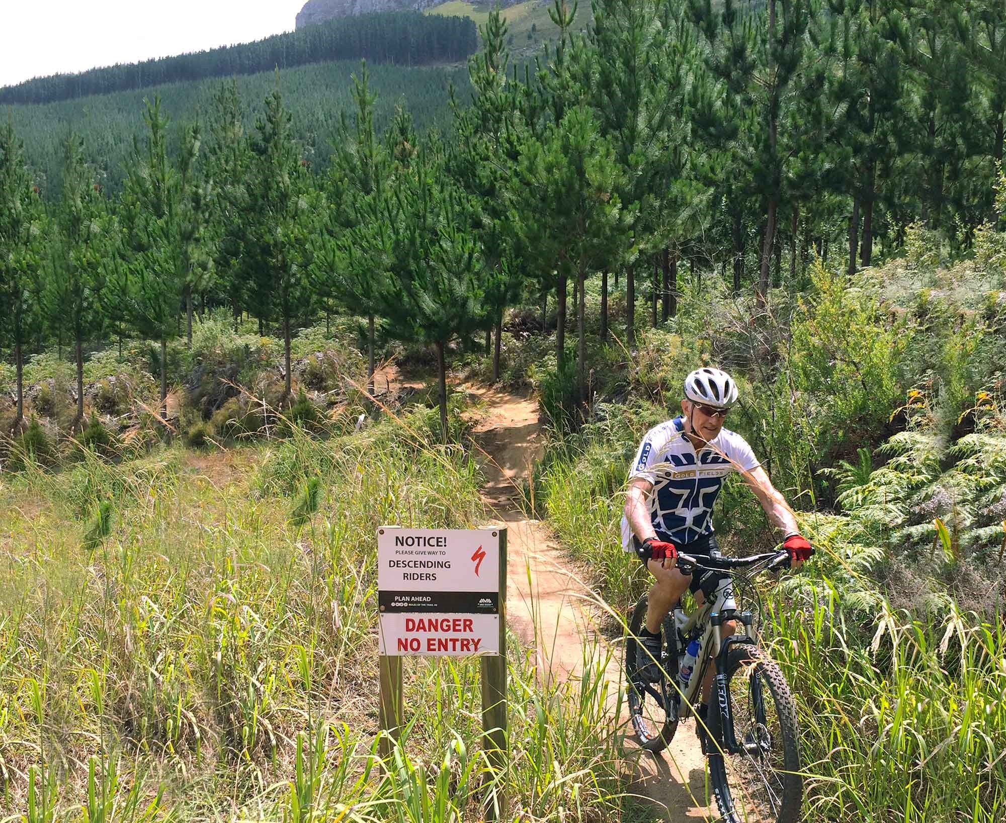 Dad Test Riding the Kona Satori on the South African Trails