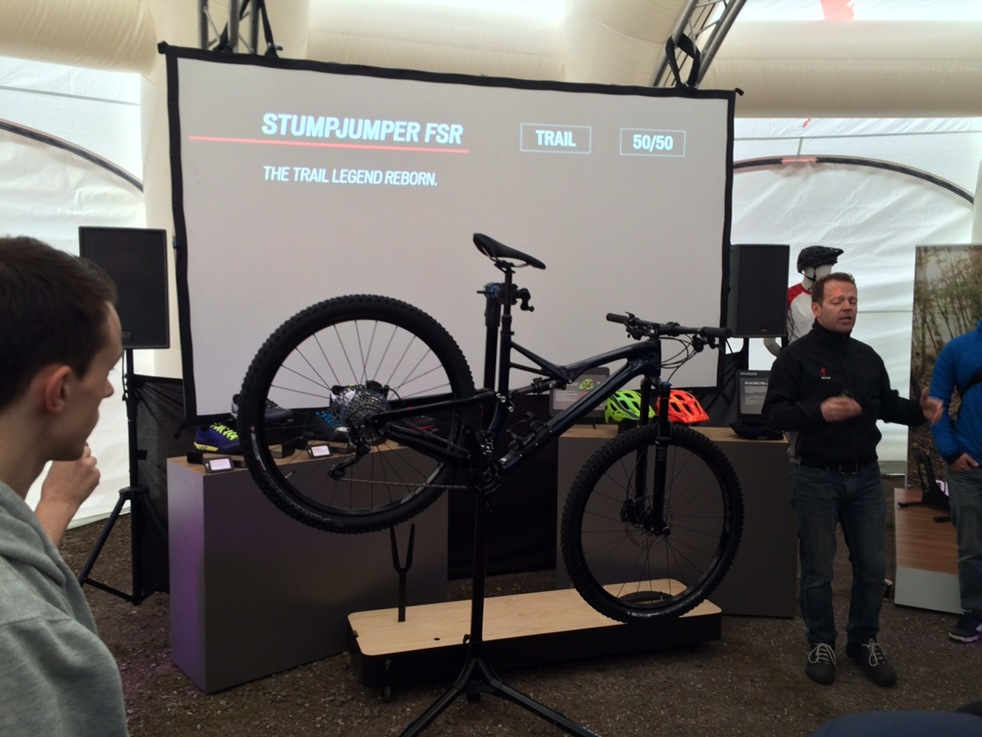 Launch of New 2016 Specialized Stumpjumper FSR
