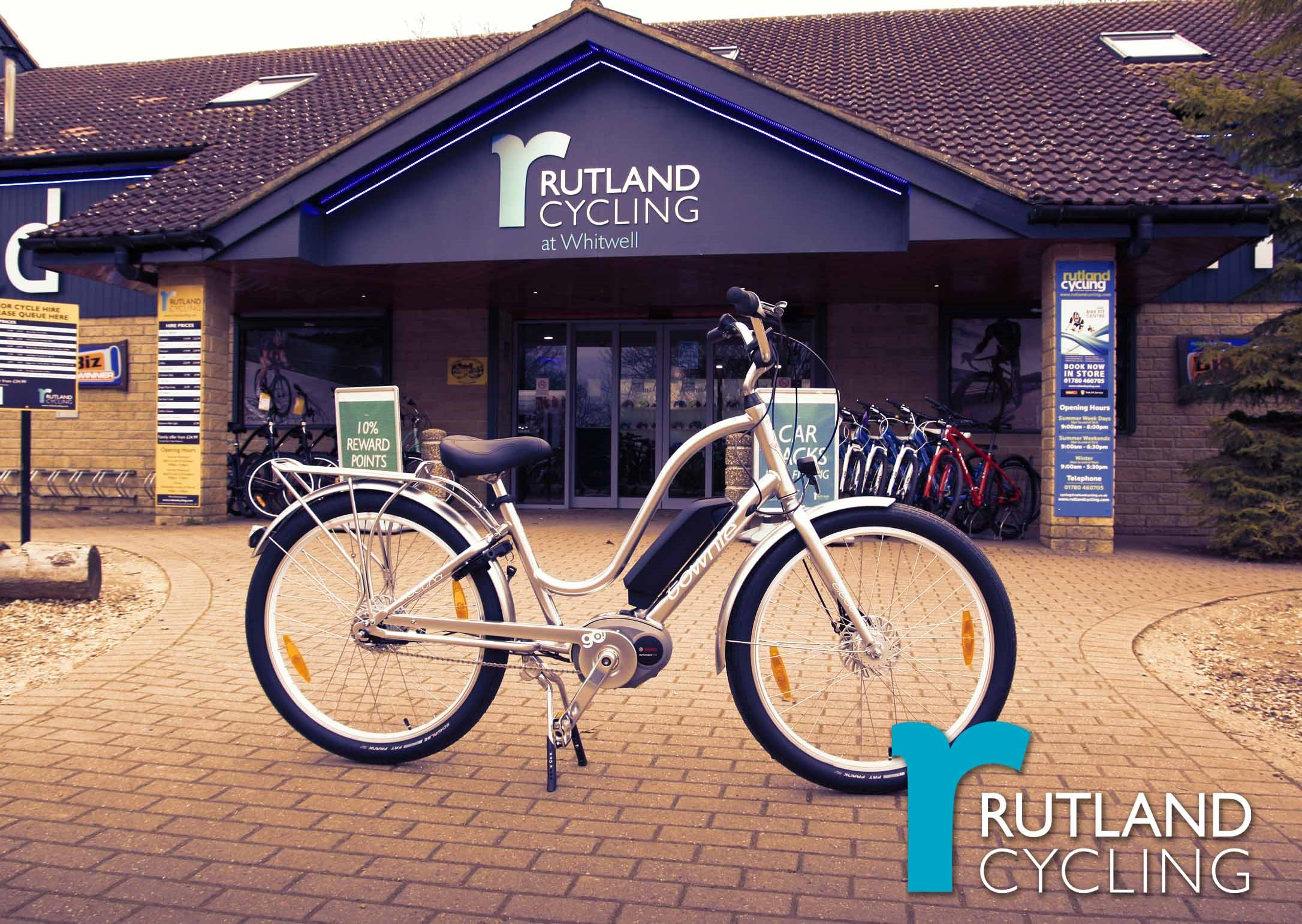 Electra E-bikes at Rutland Cycling Whitwell
