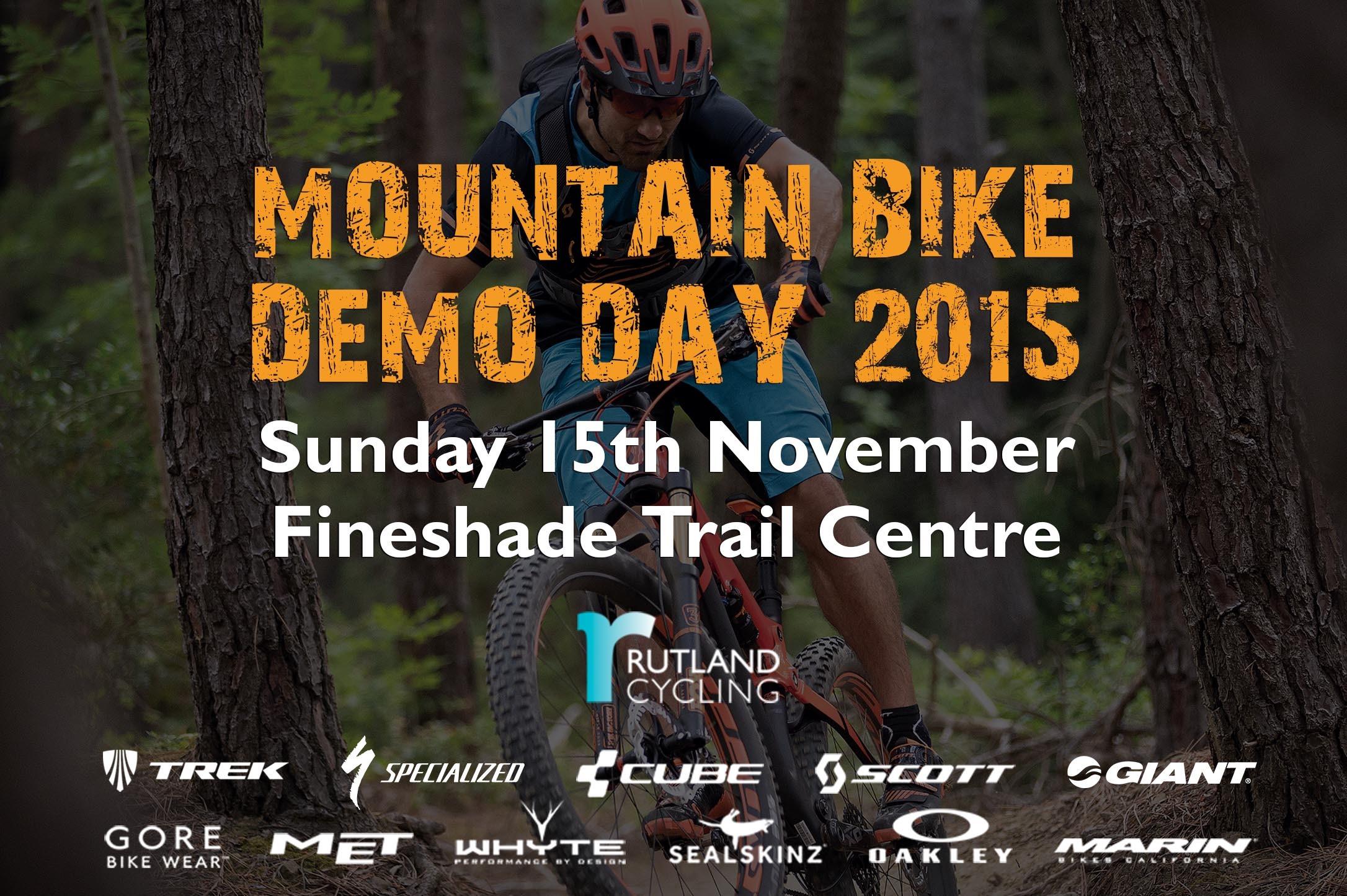 Rutland Cycling MTB Demo Day 2015