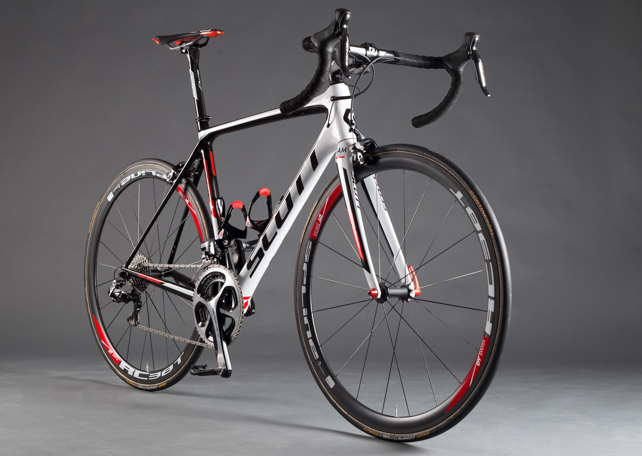 Scott Addict IAM Cycling Team Issue Bike