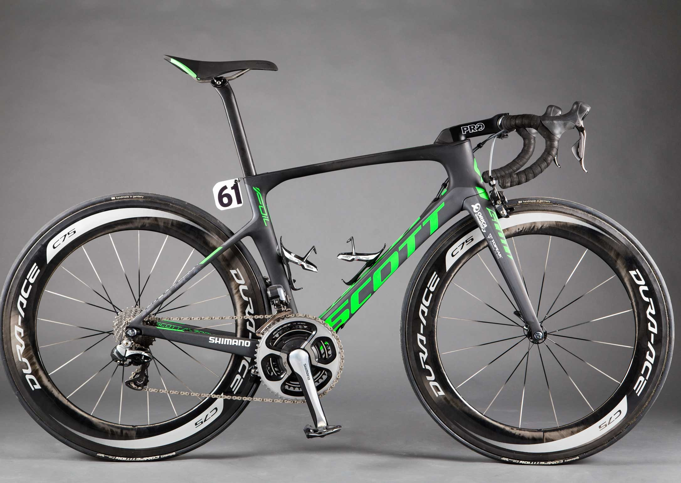 Scott Foil Orica Green Edge Team Issue Bike