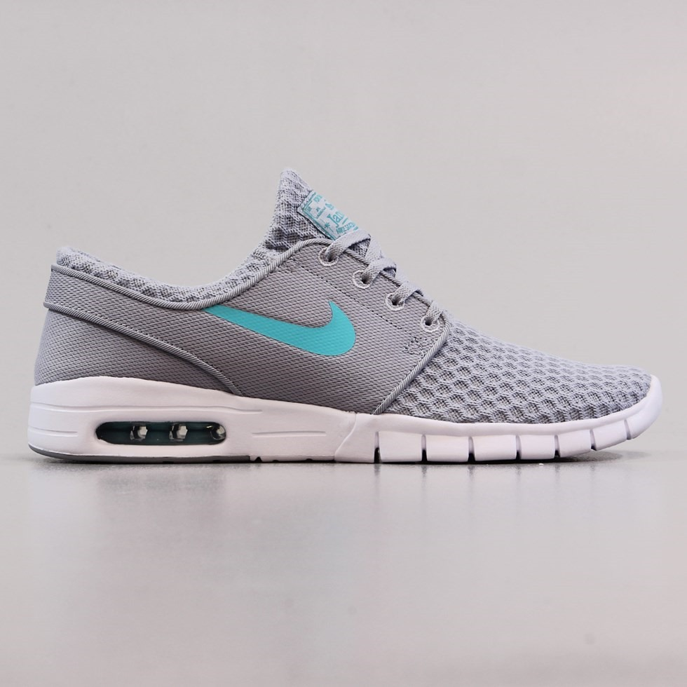 Nike SB Janoski Max Shoes Wolf Grey Light Retro White