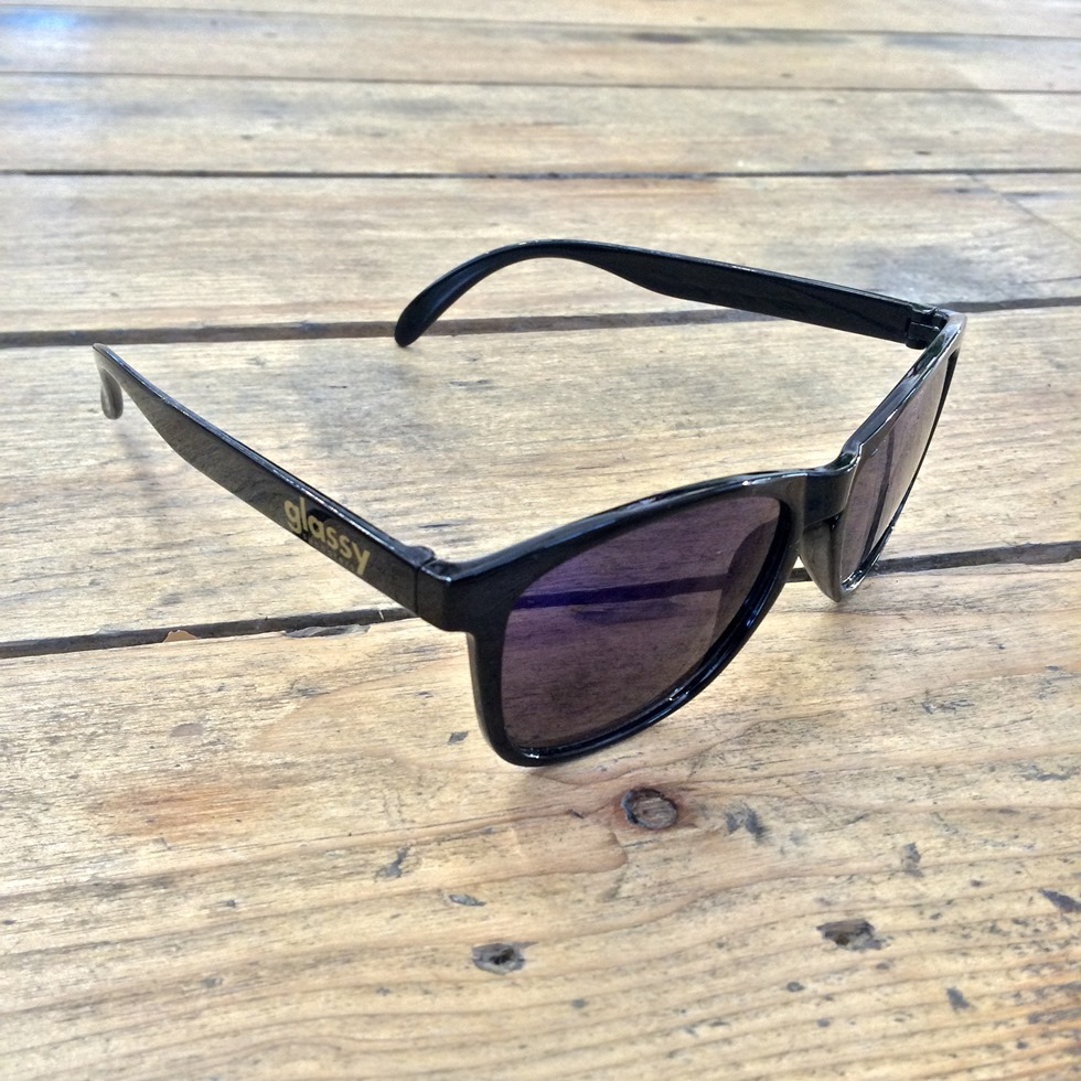 Glassy Sunhaters Leonard Sunglasses Black