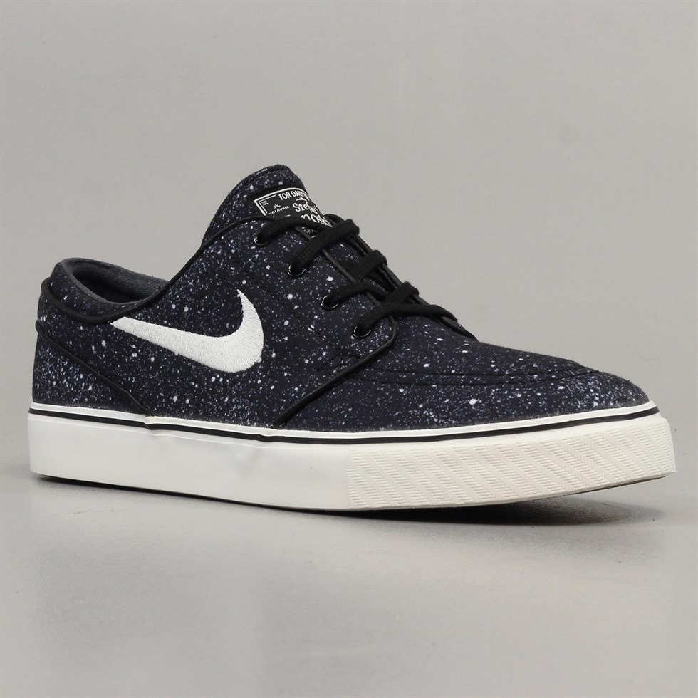 Nike SB Stefan Janoski Shoes Black Ivory