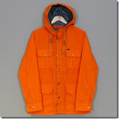 Obey Skyline jacket Orange