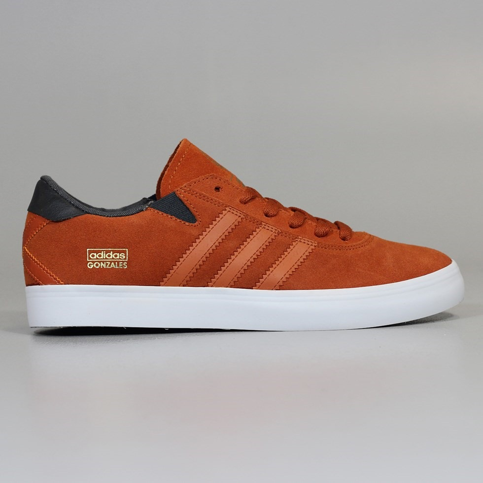 Adidas Gonz Pro Shoes Fox Red