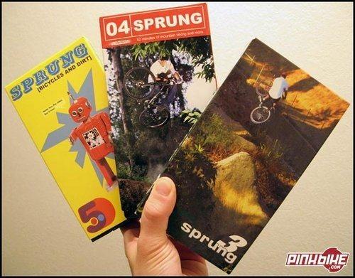 Sprung VHS's