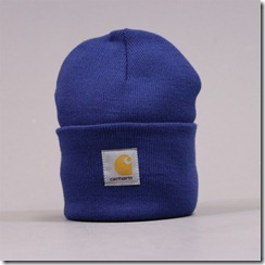 carhartt watch hat blue