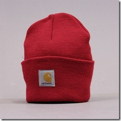 carhartt watch hat red