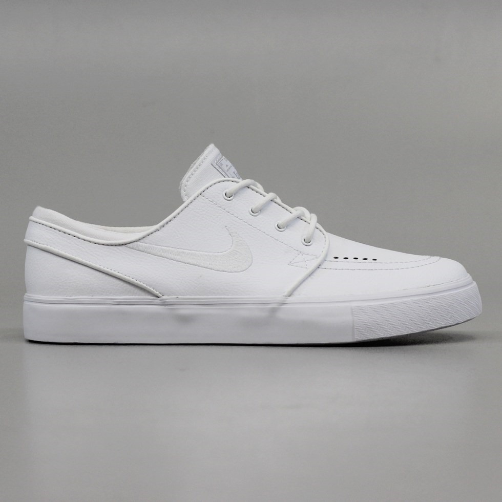 Nike SB Zoom Stefan Janoski L Shoes White White