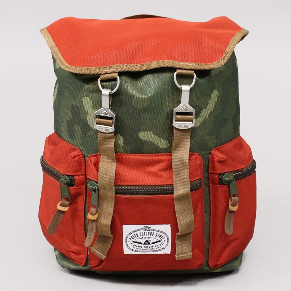 Poler Outdoor Stuff Roamers Pack Camo Orange