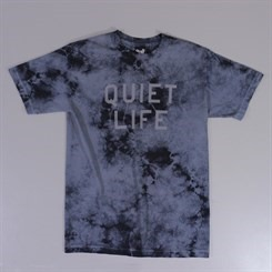 The Quiet Life Stormy Tie Dye T Shirt Grey