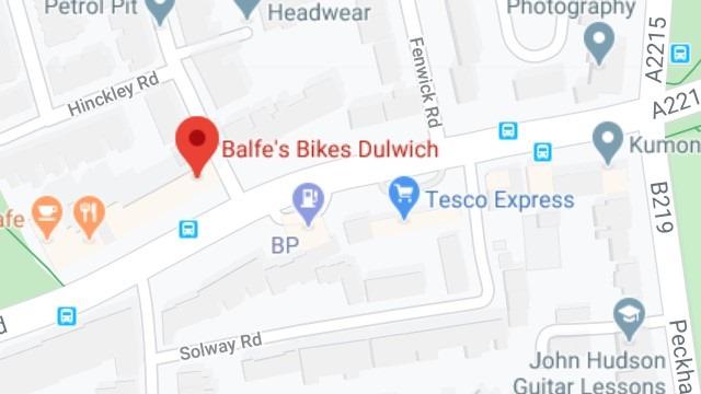 Dulwich map thumb