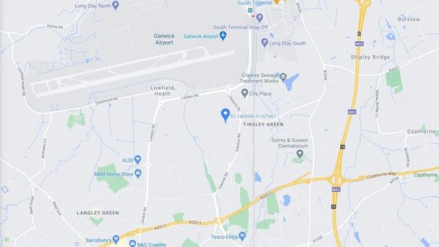 Gatwick map 16x9