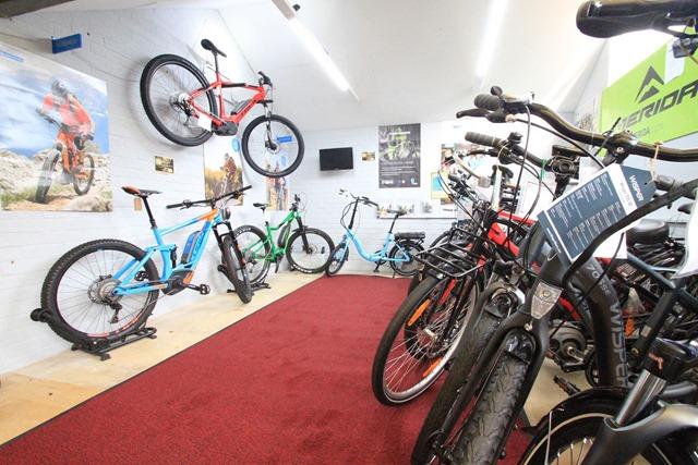 ebike showroom
