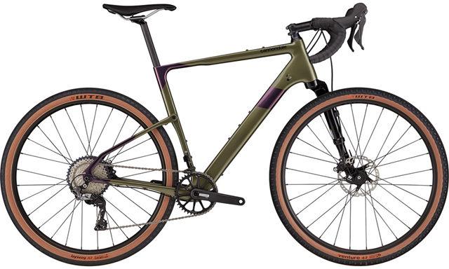 2021 Cannondale Topstone Carbon Lefty 3 Gravel bike in Mantis