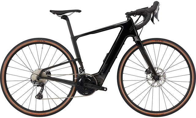 2021 Cannondale Topstone Neo Carbon 2 Gravel bike in Black Pearl