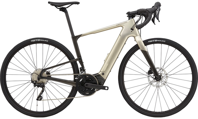 2021 Cannondale Topstone Neo Carbon 4 Gravel bike in Champagne