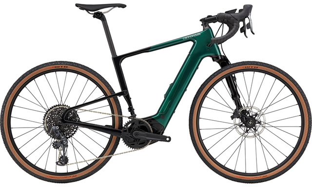 2021 Cannondale Topstone Neo Lefty Carbon 1 Electric in Emerald