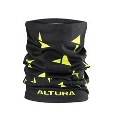 Altura Neck Warmer Black Hi Viz Yellow