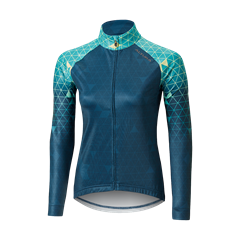Altura womens icon long sleeve jersey grid front
