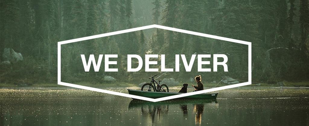 We Deliver Banner