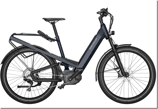 2020 Riese and Muller Homage GT Touring Electric Bike deepsea blue metallic