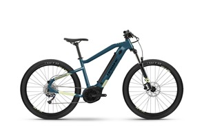 2021 Haibike HardSeven 5 500Wh Electric Mountain Bike in Blue