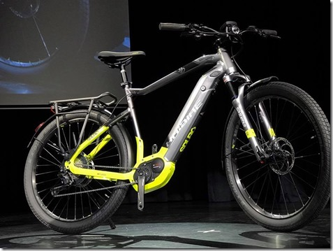 Haibike sDuro Trekking 9.0 urban Bosch powertube electric bike