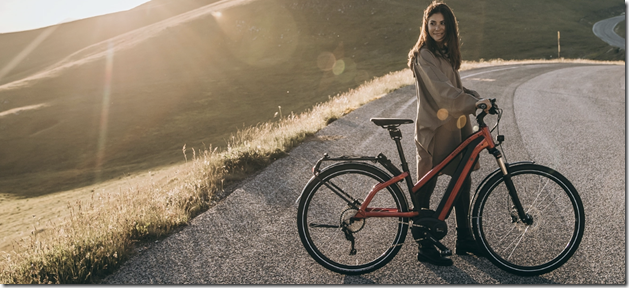 Riese and Muller Charger woman explore ebike 2