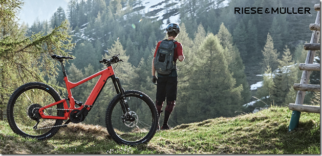 Riese and Muller Delite Mountain man explore ebike