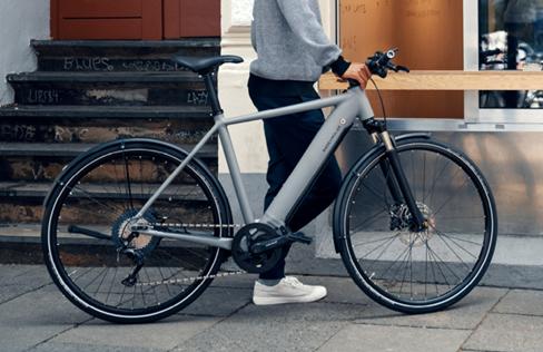 Riese and Muller Hybrid e-bike