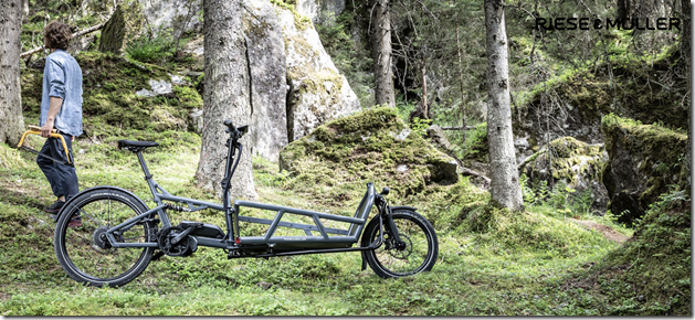Riese and Muller Load man ecargo ebike