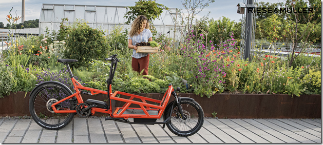 Riese and Muller Load woman ecargo ebike