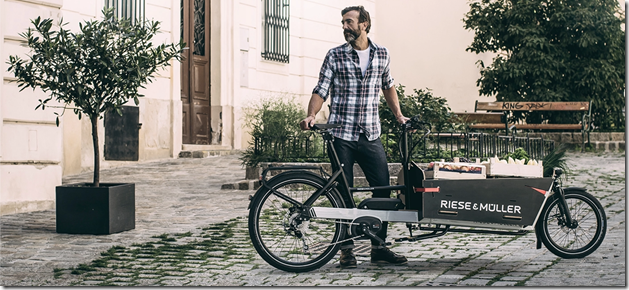 Riese and Muller Packster man ebike 2