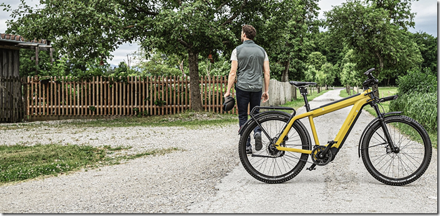 Riese and Muller SuperCharger2 Curry man explore ebike