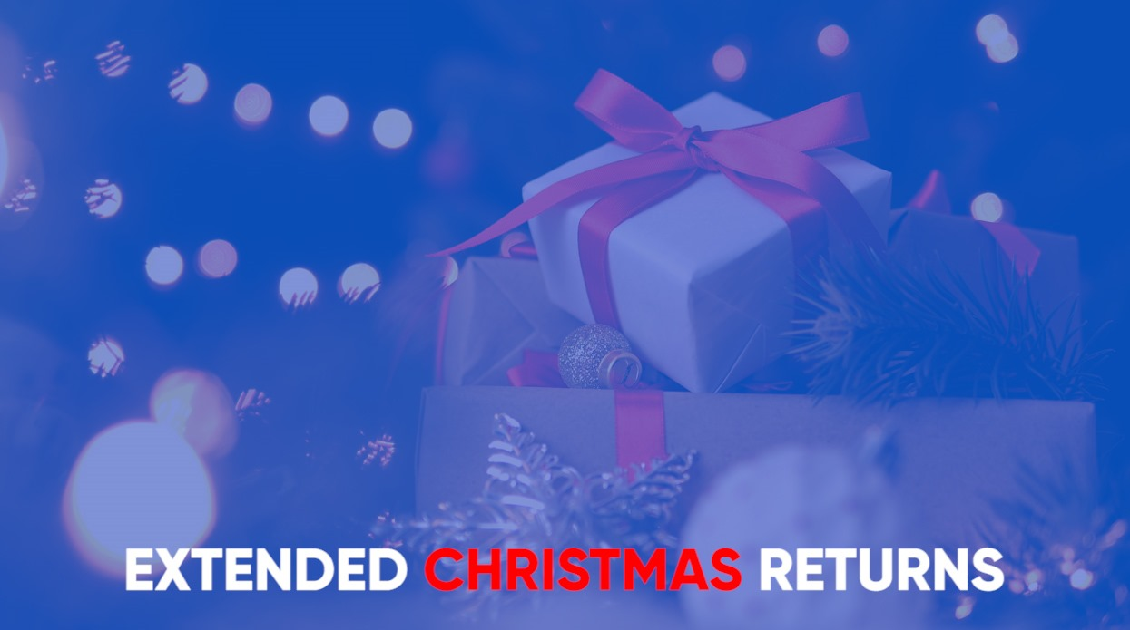 Extended Christmas Returns Website